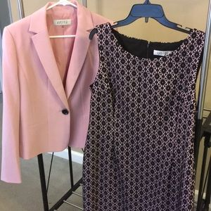 Kasper suit separates - dress and jacket